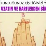parmakılar kişilik analizi