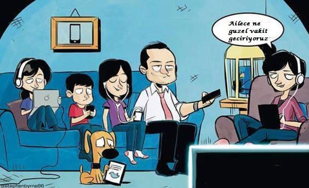 sosyal medya aile hayatı