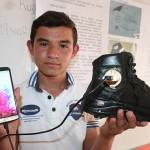 yürürken elektrik üreten ayakkabı