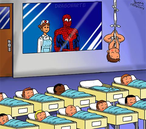 örümcek adamın çocuğu