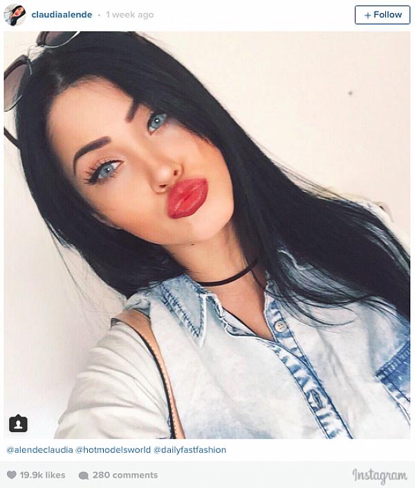 Claudia Alende instagram