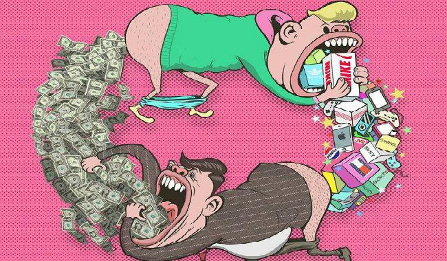 Günümüz Toplumunu Eleştiren Çizimler