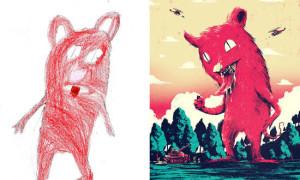 canavar-çizimleri-projesi