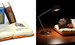 kitap şeklinde yastık